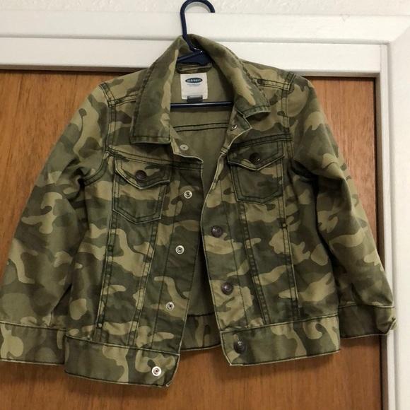 712dead44 Old Navy Jackets & Coats | Toddler Boys Camo Jean Jacket | Poshmark